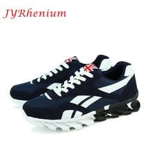 JYRhenium Size 39-47 Men Running Shoes 2018 Spring Winter Outdoor Walking Shoes Breathable Mesh Men Sneakers Sport Shoes For Men