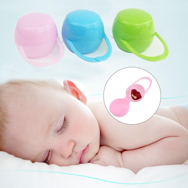 Детские Соска для младенцев держатель кольцо для соски коробка чехол для путешествий Подарок