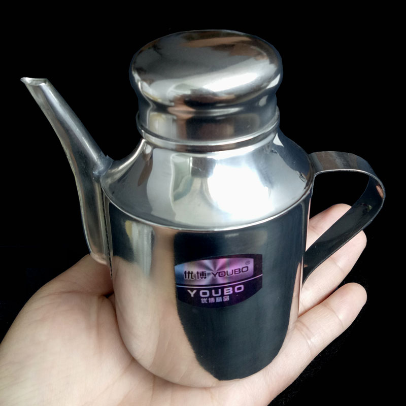 Medical stainless steel pot oil pot&Flavoring pot &eye pot 6 ounce 125ml цены онлайн