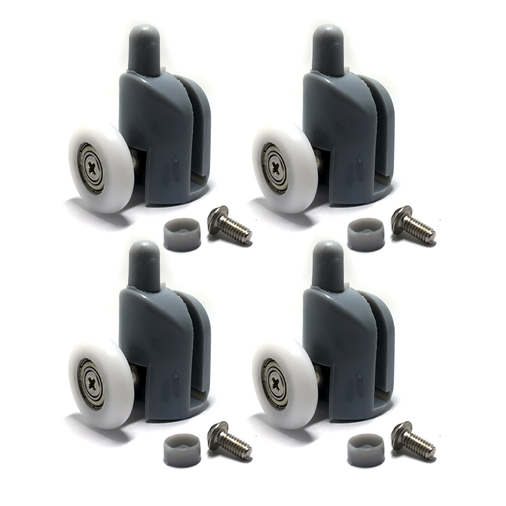 High Quality Shower Door Rollers Runners 25mm Wheels Replacement Shower Door Roller Wheel 4PC