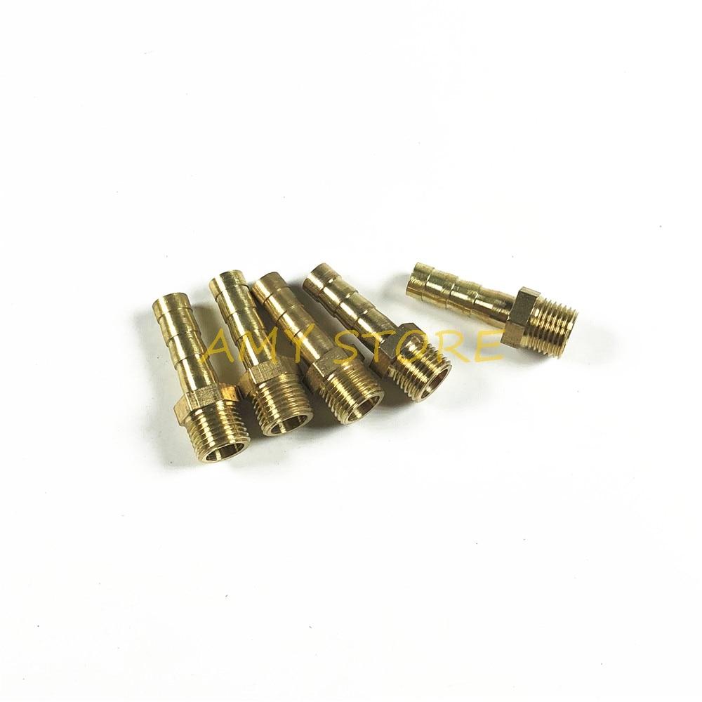 2/x 8 4/mm Plastique barbel/é adaptateur R/éducteur Raccord de tuyau de carburant Tuyau cannel/é
