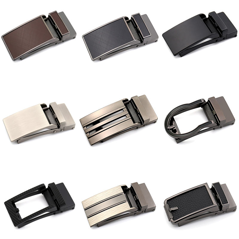 3.0cm 3.1cm Width Genuine Leather Men's Belt Buckle Head Business Belt Buckle Accessories Automatic Buckle Luxury Fashion