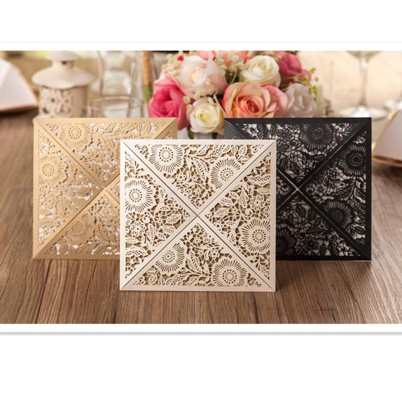 Design Rustic Gold beige Wedding Invitats