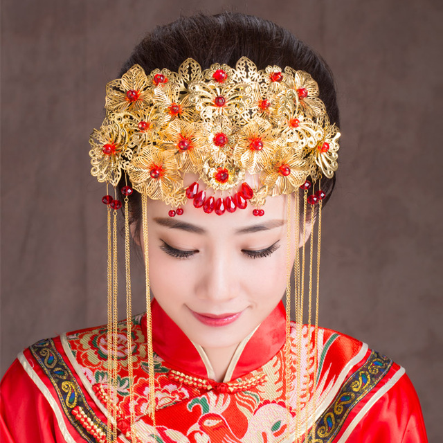 Aliexpress.com : Buy Chinese Traditional Classical Bridal ...