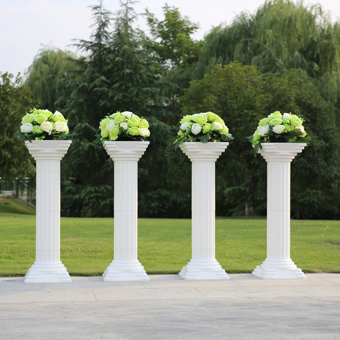 Wedding Flower Pillars