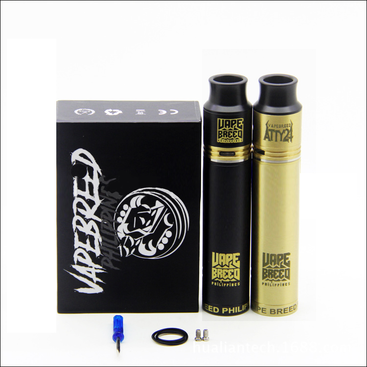 VapeBreed Atty 24 Mod Kit with 24mm Diameter RDA Insulated Spring type for 510 thread atomizer