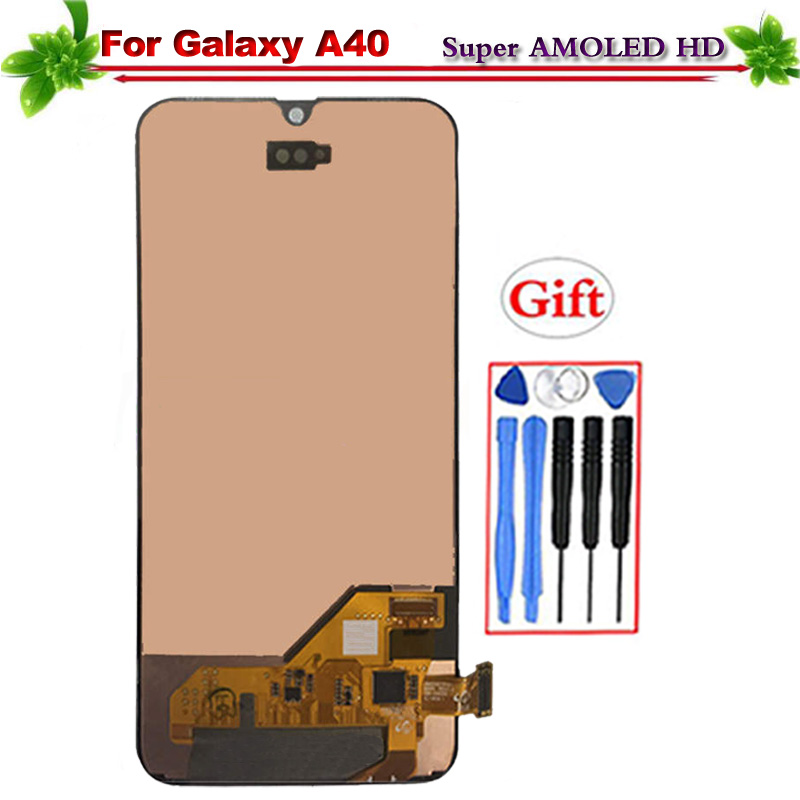 Super Amoled for Samsung Galaxy A40 2019 LCD Display Touch Screen Digitizer Assembly for A40 2019 A405 A405F SM-A405F A405DS LcdSuper Amoled for Samsung Galaxy A40 2019 LCD Display Touch Screen Digitizer Assembly for A40 2019 A405 A405F SM-A405F A405DS Lcd