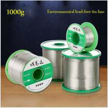 Green 1000g 0.6mm~1.2mm ROHS lead-free solder wire Sn99.3CU0.7 rosin core diameter(China)