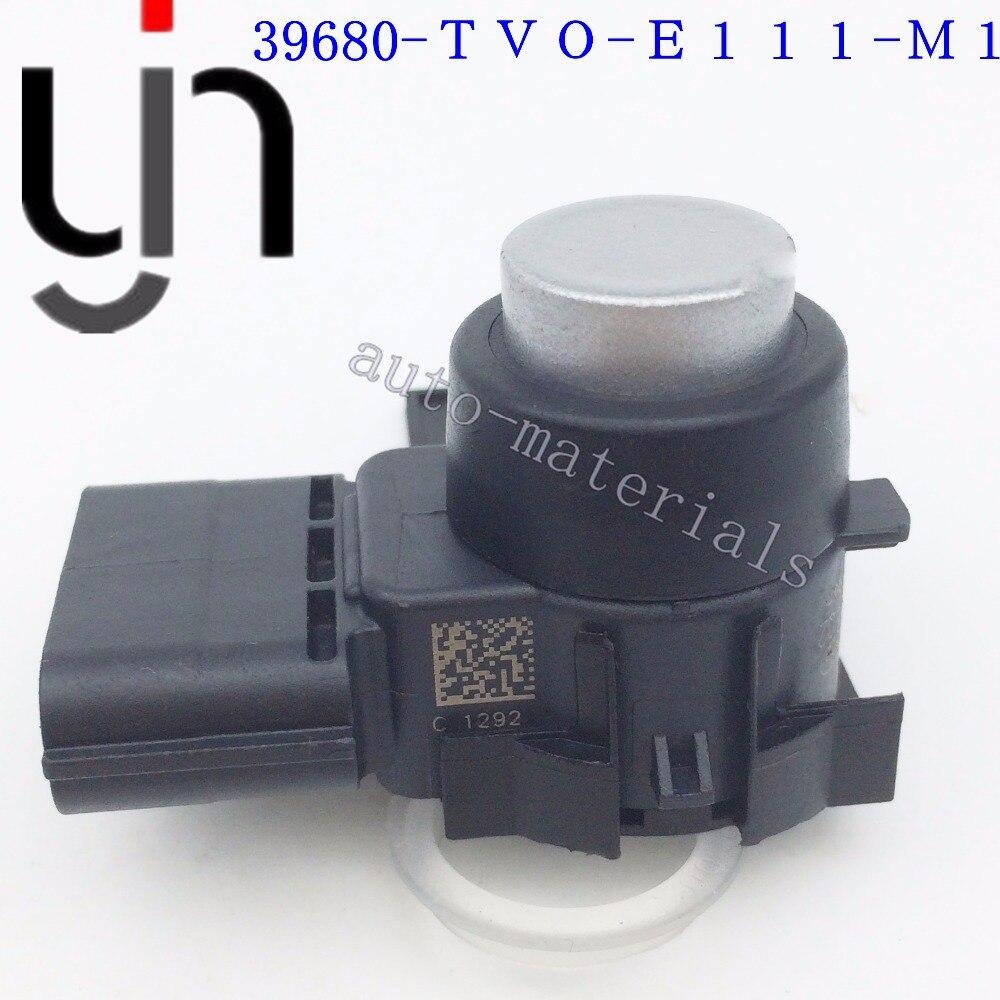 100% Original Qualität 39680-TV0-E11ZE Auto Parkplatz Sensor Backup Hilfe Reverse Für Honda 39680-TV0-E111-M1 0263023776 silber farbe