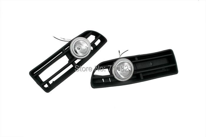 Front Fog Light Kit With LED Surround For VW Jetta / Bora MK4 bumper grille front fog light kit with led surround for vw golf mk4