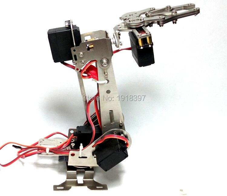 5 DOF manipulator. Vigorously working robot. abb industrial robot arm. Video presentation. Free fast shipping