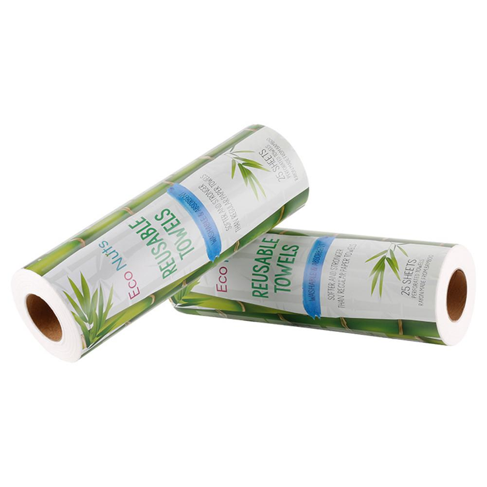 Eco Friendly Reusable Cleaning Cloths Biodegradable Reusable Paper Towel Cloth All Purpose Clothe 30 Sheets