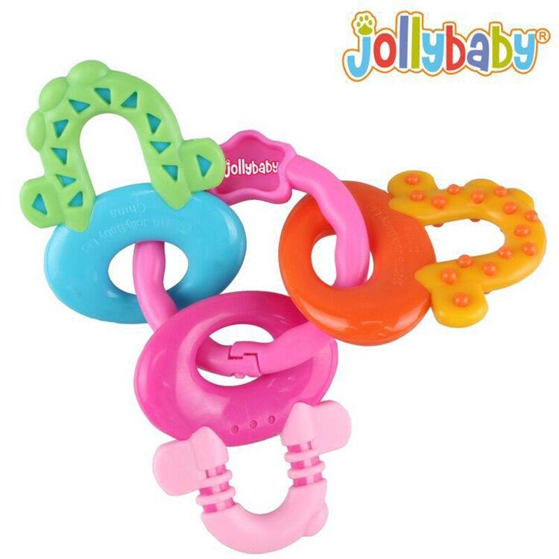 Juguetes para bebés de 3 a 12 meses Nuevo Silicon Baby Teether Molar - Juguetes para niños - foto 2