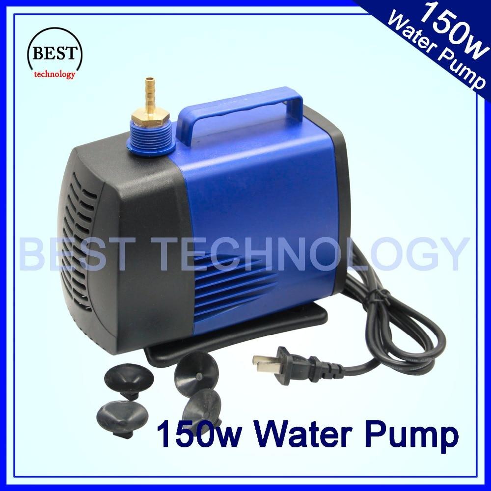 все цены на 150w 220V water pump max head 5m max flow 5000L/H Multi-function submersible pump!