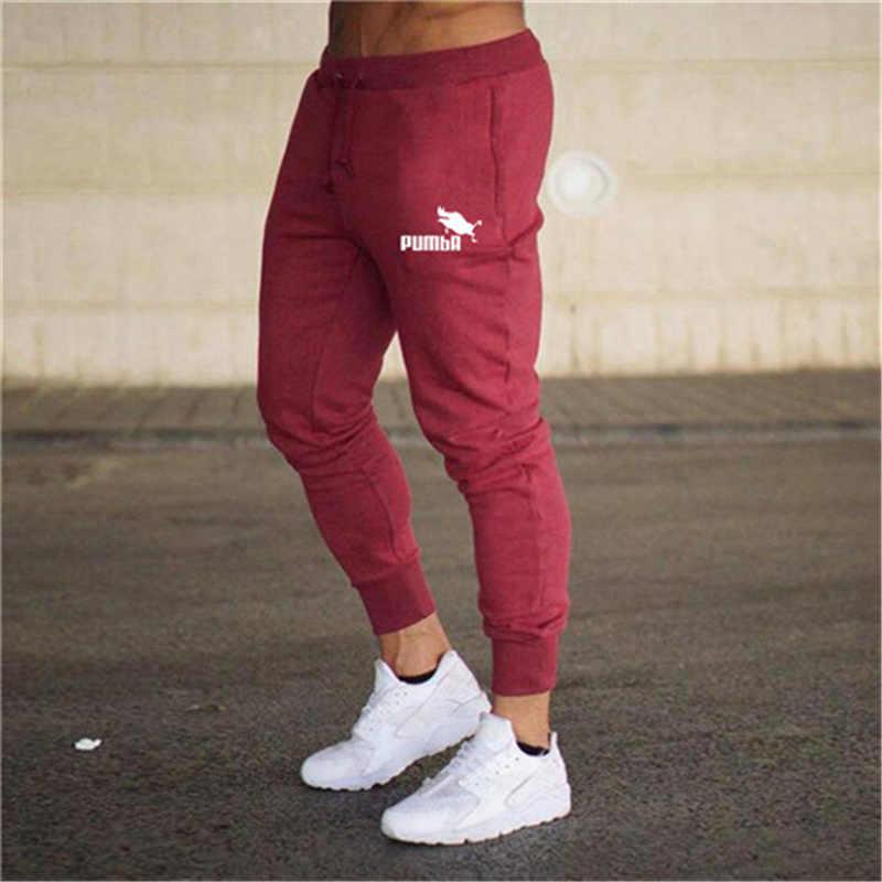 2019 erkek pantolon yeni moda koşu pantolonları erkek rahat spor pantolon vücut geliştirme fitness pantolonları erkek spor pantolon XXL