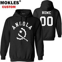 ANGOLA pullover logo custom name number autumn winter ao Jersey keep warm hat ago flag portuguese Angolan nation country clothes