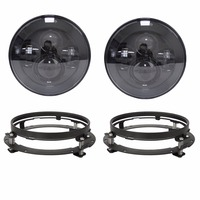 For Jeep JK 2pcs 7 Inch Round Headlights Led Daymaker For Jeep Wrangler 97 15 Hummer