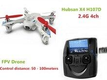 Hubsan X4 H107D 2.4 Г 4ch Квадрокоптер 4-осный Камеры FPV Drone RC Игрушки Вертолета Аэрофотосъемки Видео RTF F08562