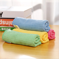 Bamboo Fiber Washing Cloth Absorb Water Do Not Dip Oil Dish Towel