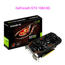 NEW For Gigabyte GTX 1060 6G Overclocking Version Game Video Card Specialty Mining Graphics GPU 192bit Transcend RX480 1050TI