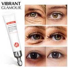 Peptide Collagen Eye cream Anti Wrinkle Remove Eye Bag Anti Puffiness Dark Circles Fat granule Moisturizing care VIBRANT GLAMOUR цена