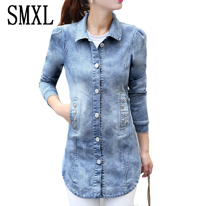 add new Jeans Coat cotton blue new Womens