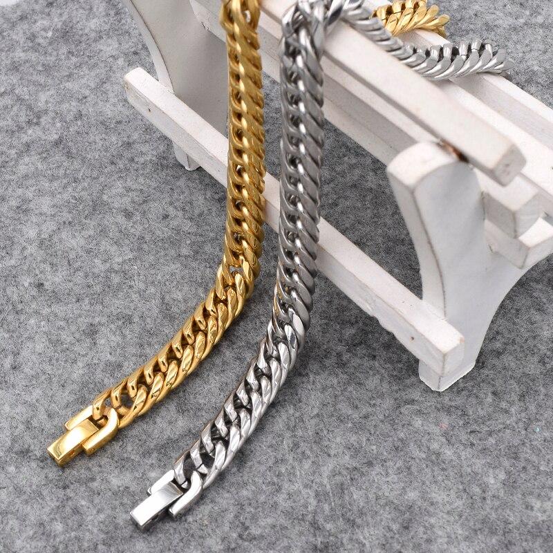 ATGO 22cm, 9mm Punk Hot 316L Rostfritt Stål Armband Armband - Märkessmycken - Foto 5