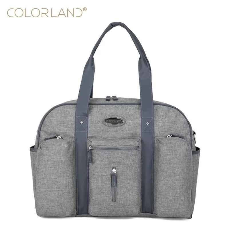 Colorland Baby Diaper Bag Organizer Large Mom Messenger Nappy Bags Fashion Mummy Maternity Bag Brand Mother Maternity Handbag все цены