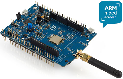 B-L072Z-LRWAN1 STM32 LoRa To explore the suite Sx1276 open module in ST