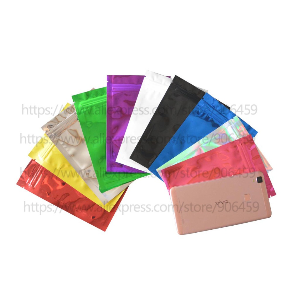 14 20 Cm 5 5 7 8 Colorful Top Feed Foil Zip Lock