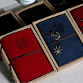 Novo Papel Kraft Notebook 80 Folhas Do Vintage A6 Caderno Espiral Desenho Esboço do livro de Couro Diário Escritório escola Suprimentos Presente