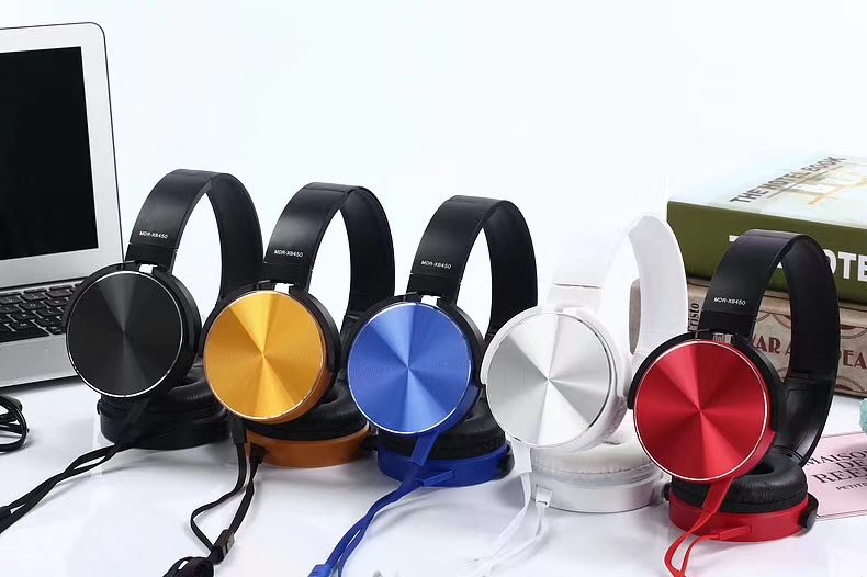 Headphones Earphones 3.5mm Stereo Music Headset With Microphone For Phones MP3 MP4 Computer PC Gift