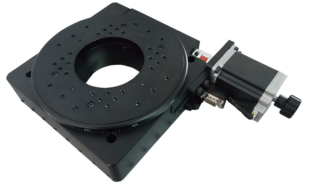 PDV PX110 200 Electric Rotary stage, Motorized Rotation Stage, Rotary Station ,Rotating platform linear slide diameter: 200mm-in Instrument Parts & Accessories from Tools    2