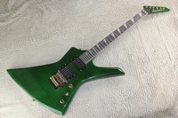 free shipping high quality Jackson KE2 Kelly green guitar custom shop jackson electric guitar with gold parts! 1312 21