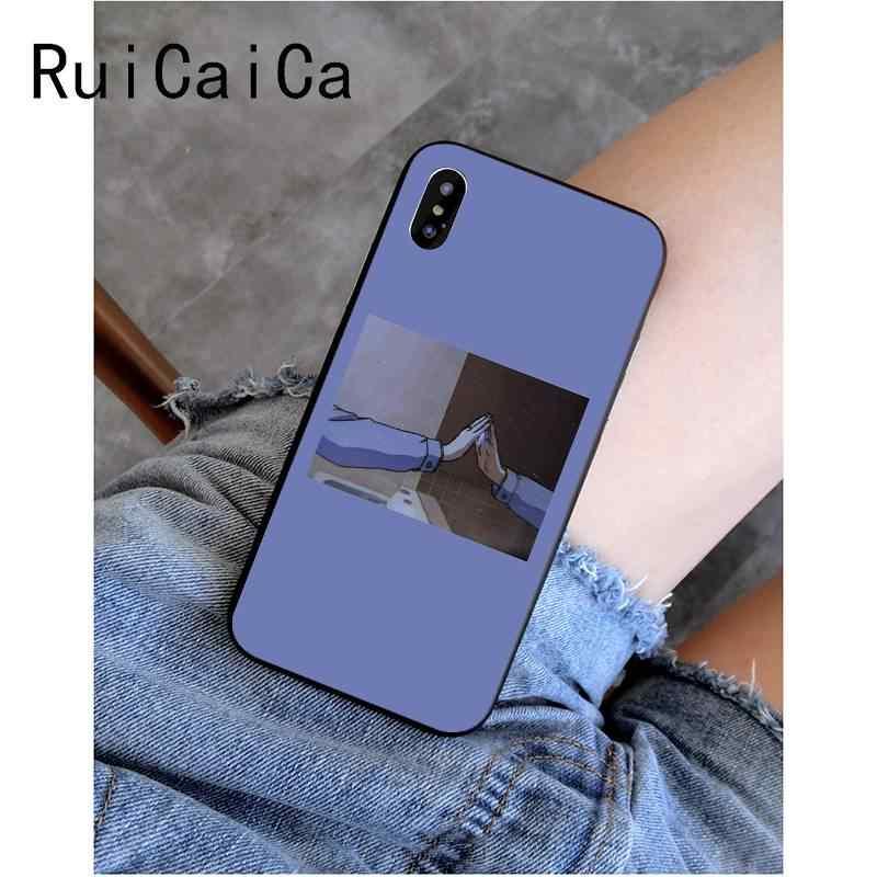 RuiCaiCa ญี่ปุ่นอะนิเมะรักเพื่อนการพิมพ์กรณีโทรศัพท์สำหรับ iPhone 8 7 6 6S Plus X XS MAX 5 5S SE XR 11 11pro 11promax