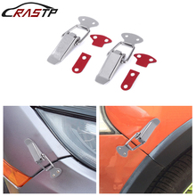 Universal Stainless Steel Bumper Durable Security Hood Lock Clip Kit Hasp Car Quick Release Fastener Size S,M,L RS-ENL019