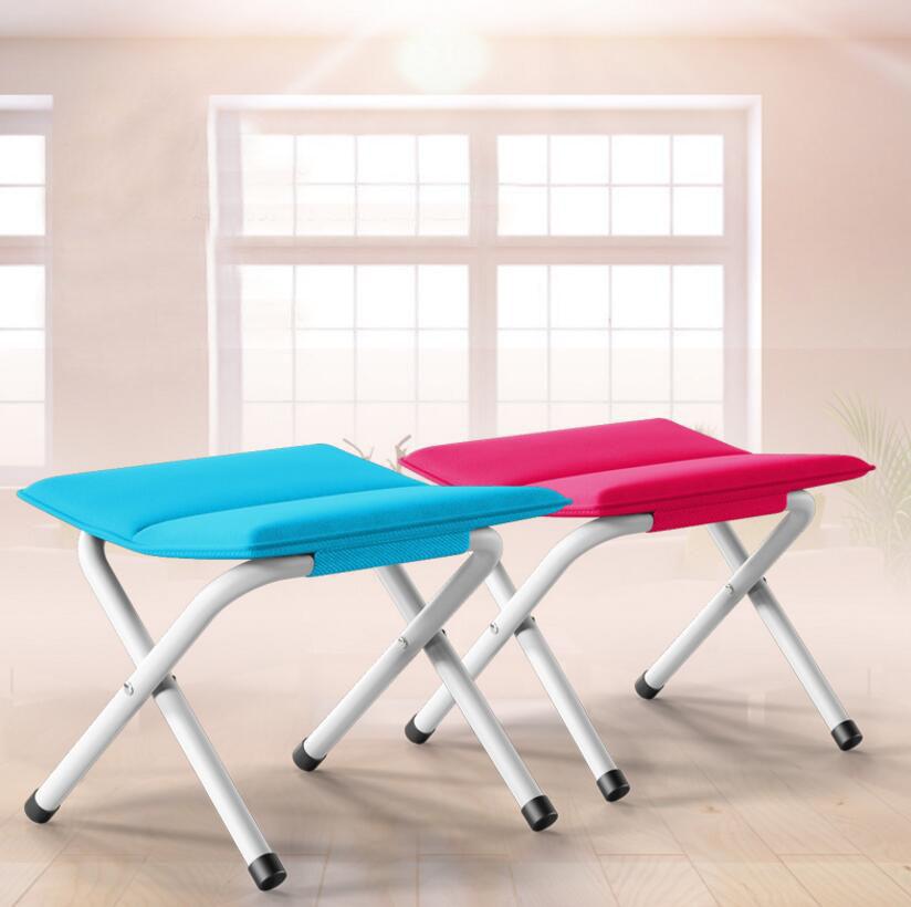 nuevo lienzo de mltiples funciones del hogar al aire libre taburete plegable portable taburete plegable