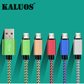 100% KALUOS 20CM 1M 2M 3M Micro USB Data Sync Charge Cable For Xiaomi RedMi Samsung LG HTC Moto Android Phone Fast Charging Wire