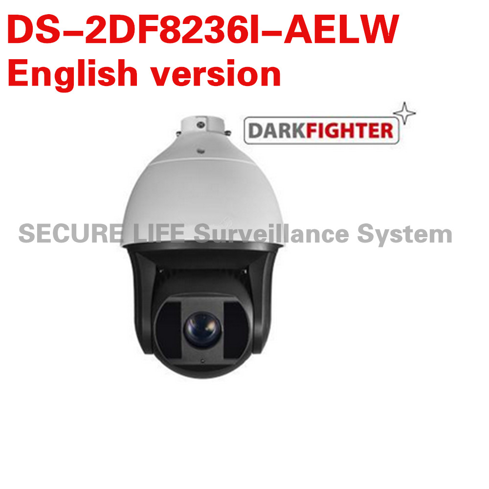 DS-2DF8236I-AELW English version 2MP Ultra-low Light Smart PTZ Camera 36X optical zoom , Dark fighter with wiper 2017 new ds 2df8836iv aelw english version 4k smart ir ptz camera poe camera with wiper