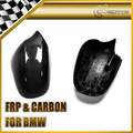 New 2pcs Side Mirror Cover Coupe Replacement Carbon Fiber For BMW 05-08 E90 3Series Car Accessories Car Styling