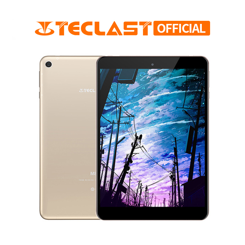 M89 Teclast Tablet PC 7.9 IPS Retina 2048x1536 Android 7.0 Tablet MTK8176 Polegada Hexa-core 8.0MP 3GB de RAM GB ROM 32