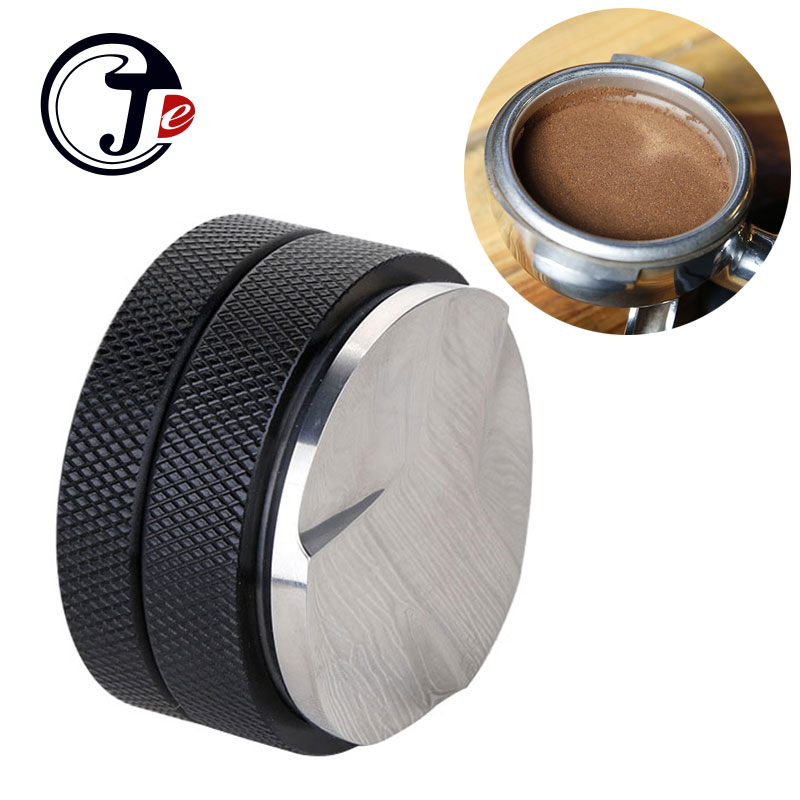 Stainless Coffee Tamper 58mm manual Coffee Grinder for Barista Tools machine Coffee Maker Grinders Tamper for home appliances 350pcs per pack coffee filters paper coffee maker replacement professional for aeropress coffee tea tools kitchen tools