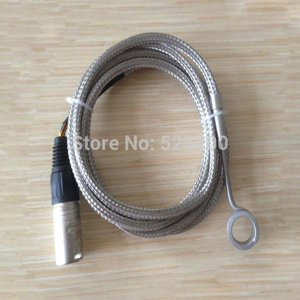 free shipping hot runner coil heater with a 5 pin xlr male connector