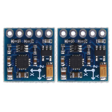 2Pcs/lot GY-271 HMC5883L Digital Compass Module 3-Axis Magnetic Sensor Module with Straight Pin and Curved Pin