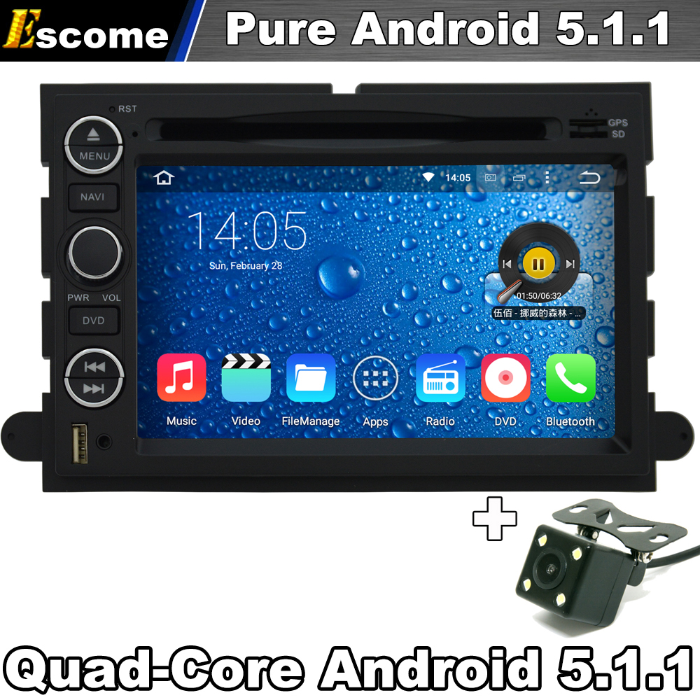 Pure android 5 1 car dvd player for ford fusion 2006 2009 ford explorer 2006