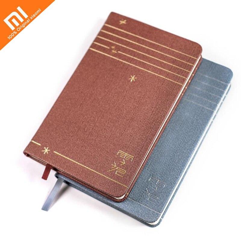 Xiaomi creativo cuaderno dentro página 71 cambio Retro portátil multifunción 192 página Oficina agenda de viajes inteligente