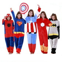 Captain America Superhero Pajamas