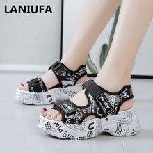 new women Sandals shoes women Platforms Wedges high heels No