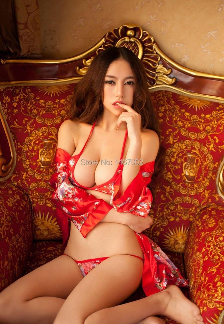 Online Shop 2015 hot Women's sexy lingerie sexy bathrobe classic ...