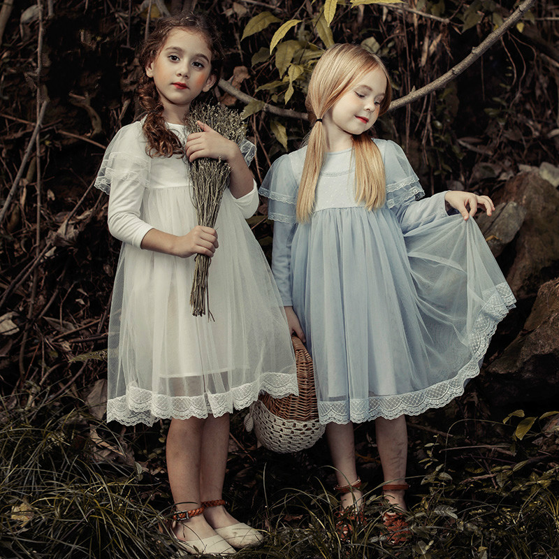 New 2017 Girls Fashion Lace Dress Kids Princess Dress Children Beautiful Dress Toddler Summer Dress Baby Clothes,3-12Y 2017 new arrival girls lace princess dress new summer brand baby girls party dress kids clothes cotton children age 5 14t